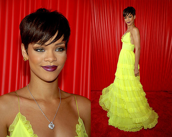 rihanna in a dress