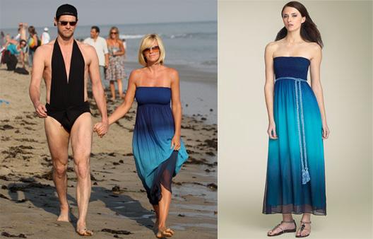 Victoria's Secret Ombre Maxi Dress
