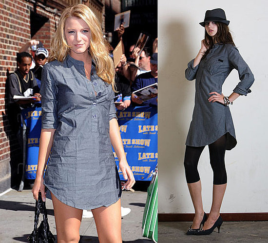 blake lively casual look. a casual style, it works.