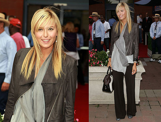 maria sharapova body. maria sharapova hair