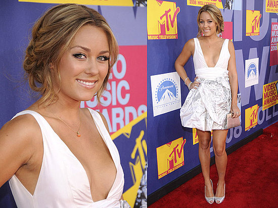 lauren conrad vma 2008 hair. Let#39;s get the 2008 MTV Video