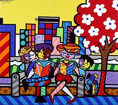 romero britto art. to Romero Britto#39;s art.