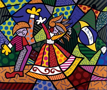701c054f08c79b85 colors of brazil Romero Britto   Perhaps The Most Famous Brazilian Artist