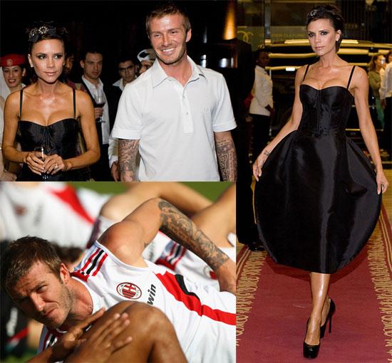 Photos of David Beckham, Victoria Beckham in Dubai ...