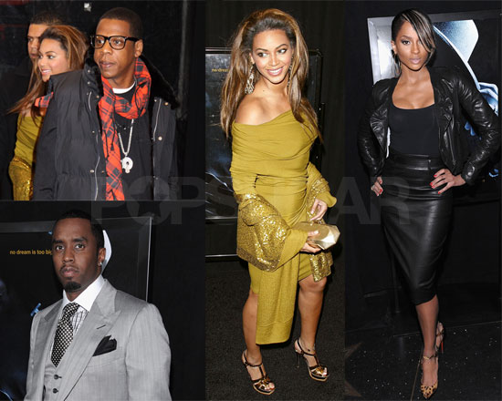 Photos Of Beyonce Knowles Jay Z Diddy At Notorious B I G Movie Premiere Popsugar Celebrity