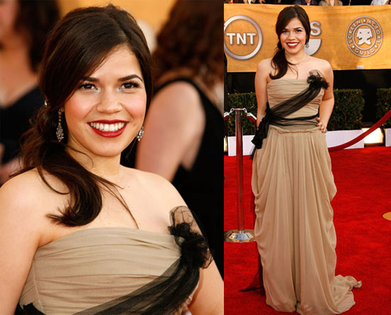 america ferrera wedding dress. girlfriend America Ferrera