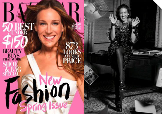 Photos and Quotes From Sarah Jessica Parker in Harper's ...