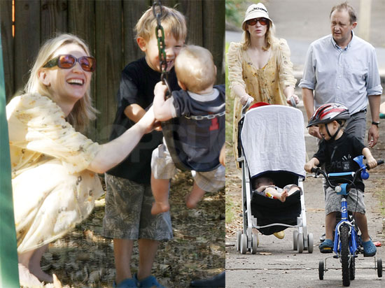 Photos of Cate Blanchett Out in Sydney With Her Husband ... кейт бланшетт властелин колец