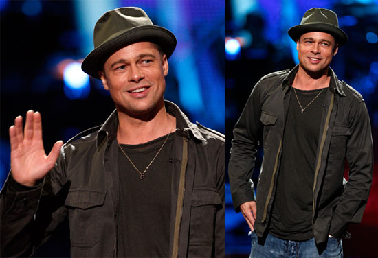 Brad Pitt Was Speechless on American Idol