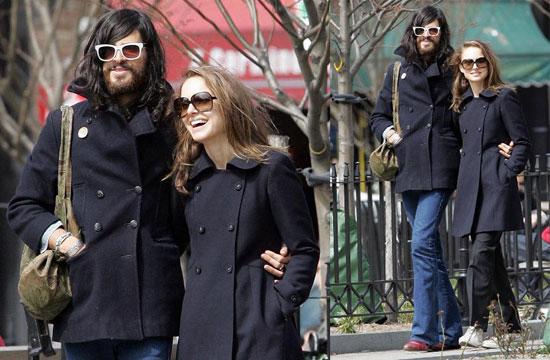 Natalie Portman New Boyfriend. Natalie Portman and Her Hippie