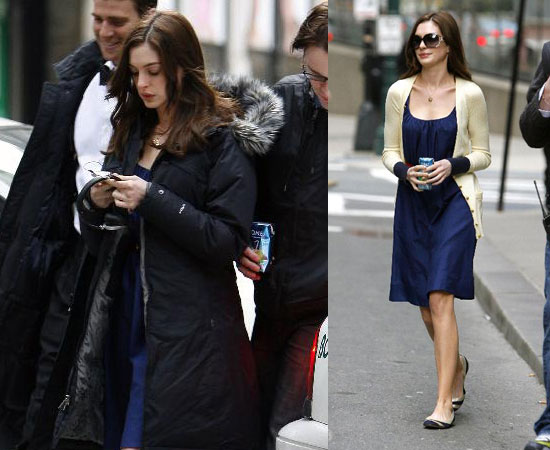 Anne Hathaway Keeps It Professional