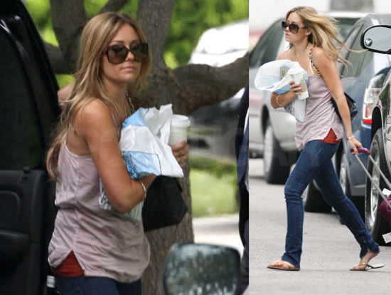 lauren conrad hair extensions. Lauren Conrad Has Baggage to
