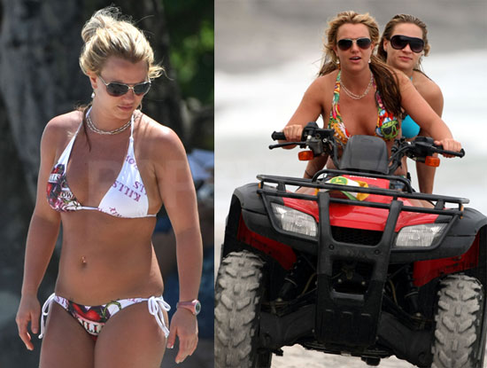 To see a lot more of Britney in her bikinis all over ...