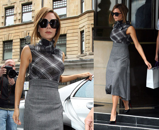 Victoria Beckham Smiling Photos. Victoria Beckham Talks About