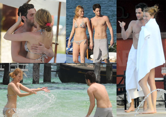 Photos Of Blake Lively And Penn Badgley Making Out In Mexico