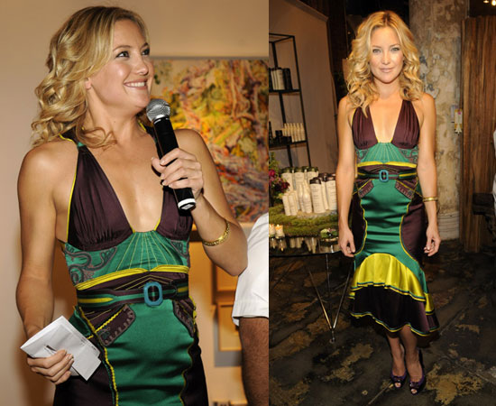 kate hudson hair colour. Kate Hudson Flies Solo With