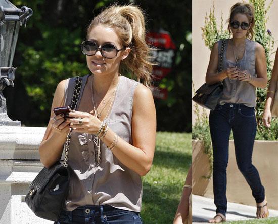 Lauren Conrad looks best with . Lauren also revealed her beauty tips