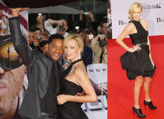 will smith wife red carpet. With Will off performing some