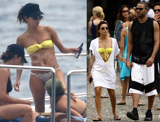 eva longoria tony. Eva and Tony relaxed on a boat
