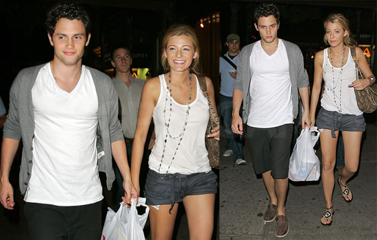 blake lively penn. Blake Lively and Penn Badgley