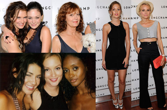 To see more from the party including Brooke Shields, Susan Sarandon and her ...