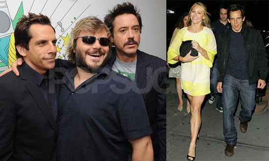 jack black wife. joined by Ben#39;s wife