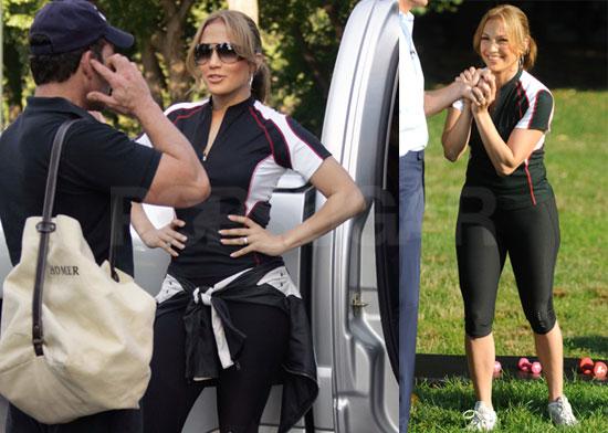 Jennifer Lopez Thighs