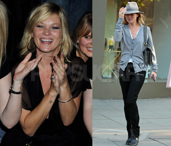 ae883e4675 Photos of Kate Moss Out Shopping in London
