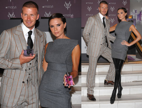 Magnificent The Beckhams Debut Their Scents In Crazy Boots Popsugar Celebrity Short Hairstyles For Black Women Fulllsitofus
