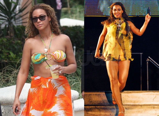 beyonce knowles in swimsuit