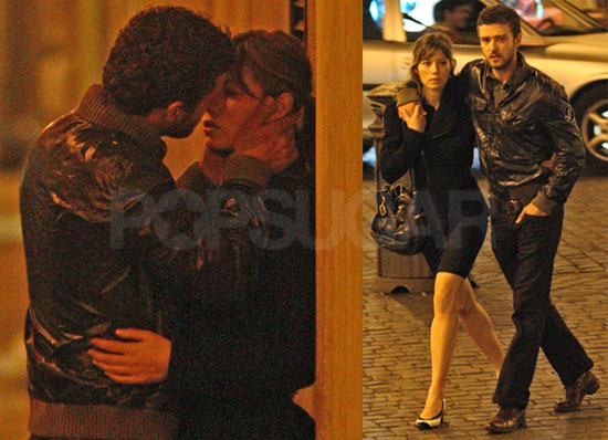 justin timberlake and jessica biel kissing. To see more of Justin and