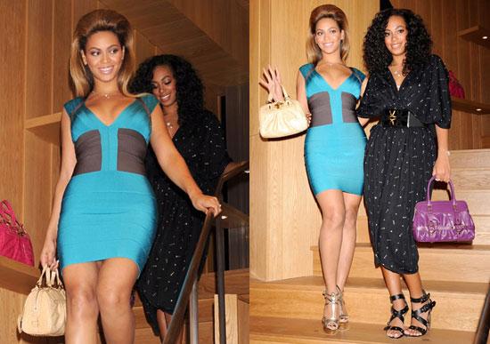 Celebrities in Herve Leger Dresses