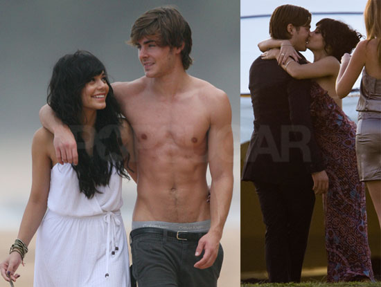 And hudgens sex zac vanessa efron
