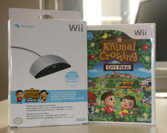 Animal Crossing City Folk For the Wii: New Features, Still Cute