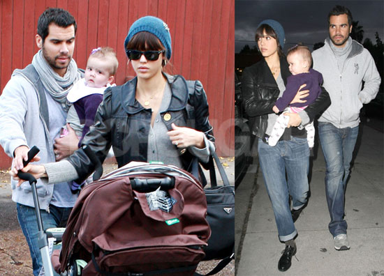 Side as the actress gears up for the holiday season with a family of