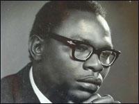 Barack Obama Sr., who died in 1982 at age 46 in a Kenya car crash.