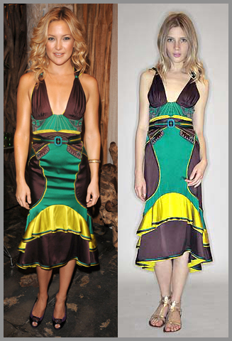Kate Hudson in Zac Posen Resort 2009