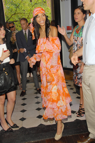 Chanel Iman in Michael Kors S/S 2008