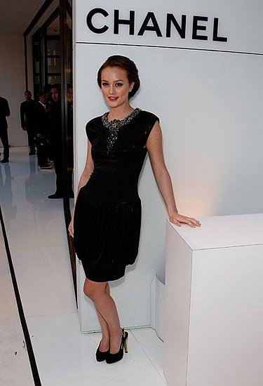 Leighton Meester in Chanel Pre-Fall 2008