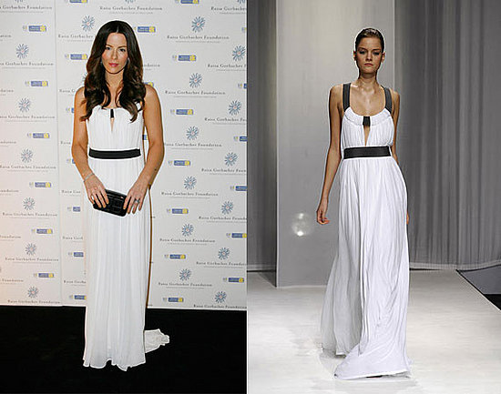 Kate Beckinsale in Amanda Wakeley S/S 2008