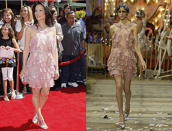 Lucy Liu in John Galliano S/S 2008