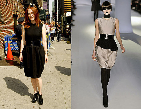 Julianne Moore in modified YSL F/W 2008