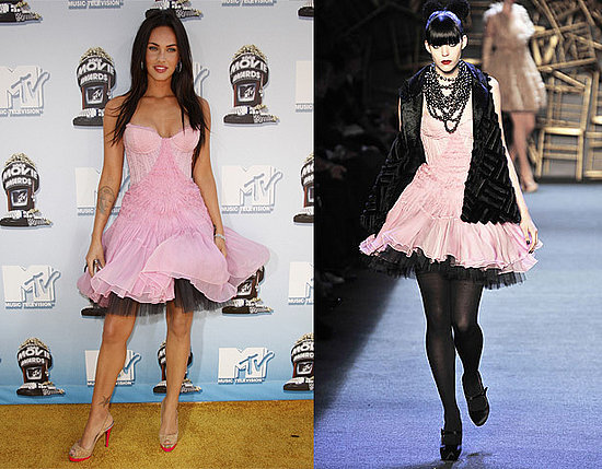 Megan Fox in Zac Posen F/W 2008