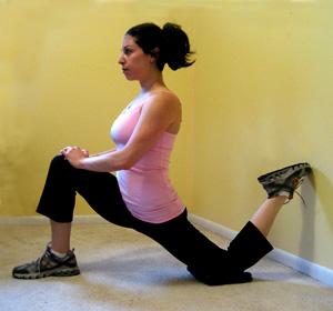 hip flexor stretches for jogging