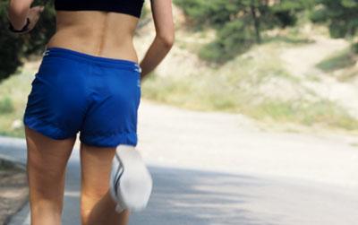 Run from pelvis