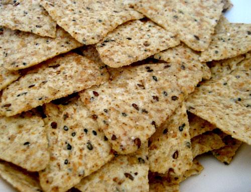 Multi grain chips