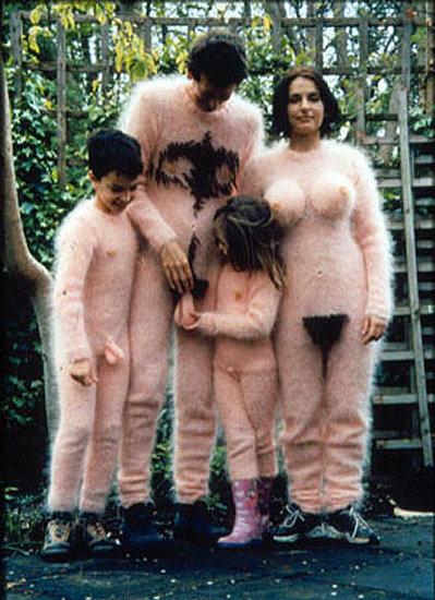 Naked Family Halloween Costume