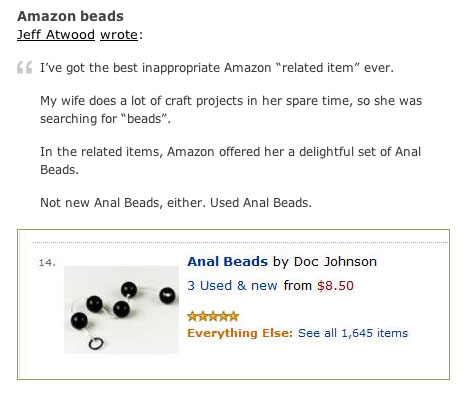 anal beads online dating