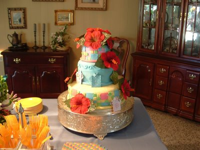 60th Birthday Cakes on Tropical Themed Birthday Cake For My Aunt   Popsugar Social