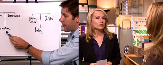 the office rundown episode four baby shower popsugar